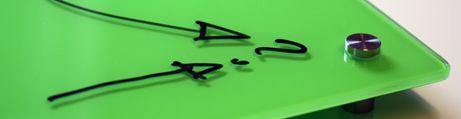 Magneetbord glas Color