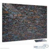 Glass Series Ambience Stone Wall 60x90 cm