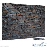 Glass Series Ambience Stone Wall 90x120 cm