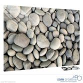 Glass Series Ambience Pebbles 45x60 cm