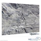 Glass Series Ambience Rocks 60x90 cm