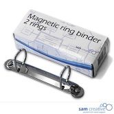 Magnetische ringband 2 D-ringen